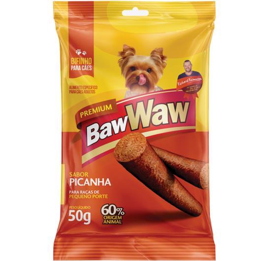 Bifinho Baw Waw picanha raças pequenas e médias 50g - Imagem em destaque