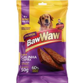 Bifinho Baw Waw galinha caipira 50g