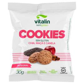 Cookies Vitalin chia/maçã/canela 30g