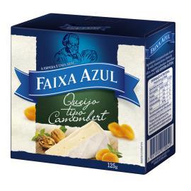 Queijo faixa azul tipo camembert 125g