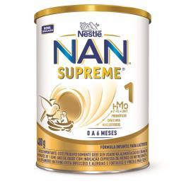 Fórmula infantil Nestlé nan supreme 1 400g