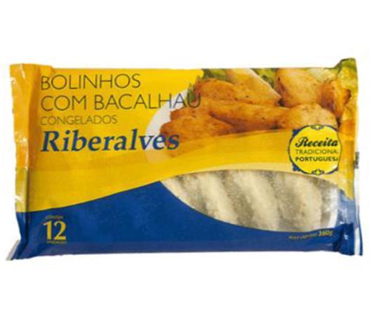 Bolinho Riberalves bacalhau congelado 360g - Imagem em destaque
