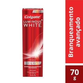Creme Dental Colgate Luminous White Advanced expert 70g
