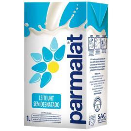 Leite longa vida semi-desnatado Parmalat 1L