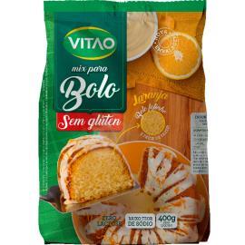 Mix para bolo sabor laranja sem glúten Vitao 400g