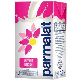 Leite longa vida integral Parmalat 1 litro