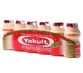 Leite fermentado Yakult 6x80g