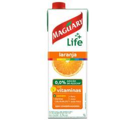 Néctar Maguary life laranja 0,0% adição de açúcar com vitaminas 1L