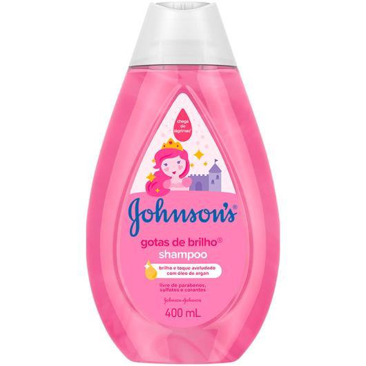 Shampoo Johnsons Baby gotas de brilho 400ml - Imagem em destaque