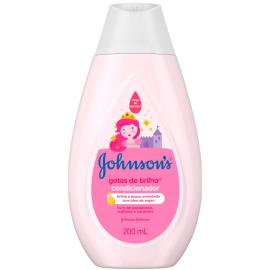 Condicionador Johnson's baby gotas de brilho 200ml