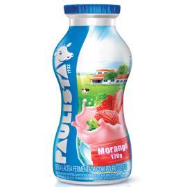 Bebida láctea Paulista morango 170g