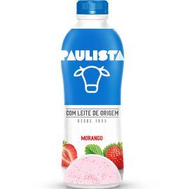 Bebida láctea Paulista morango 850g