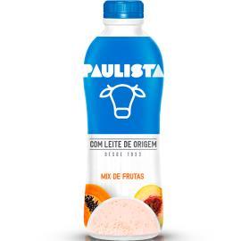 Bebida láctea Paulista mamão pêssego 850g