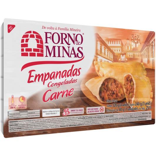 Empanada Forno de Minas Carne Congelada 240g - Imagem em destaque