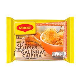Macarrão instantâneo lámen sabor galinha caipira Maggi 85g