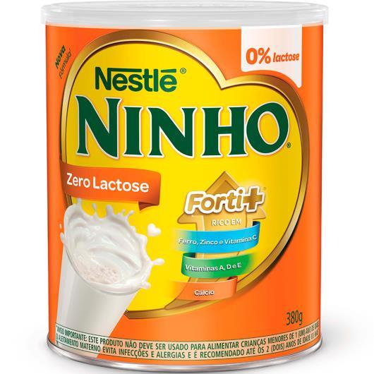 Leite em Pó NINHO Forti+ Zero Lactose 380g - Imagem em destaque