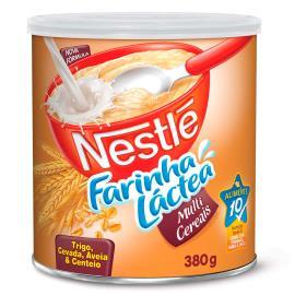 Farinha Láctea Nestlé Multi Cereais Lata 380g