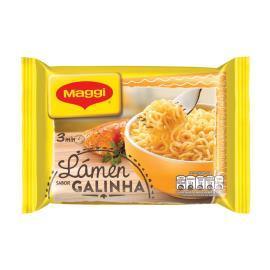 Macarrão instantâneo Maggi lámen sabor galinha 85g