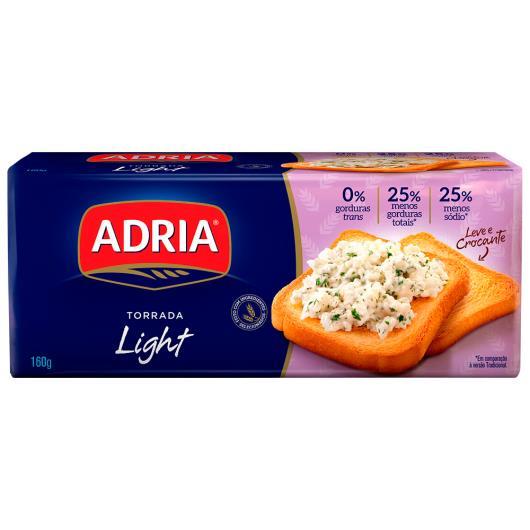 Torrada Adria light 160g - Imagem em destaque