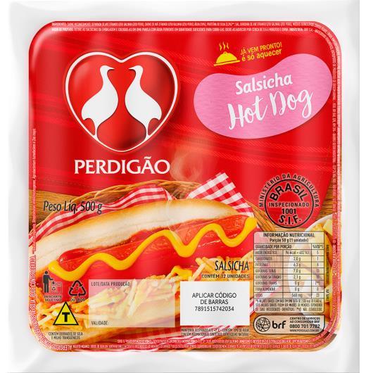 Salsicha Hot Dog Perdigão 500g - Imagem em destaque
