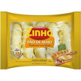 Pão de Alho Zinho tradicional recheado com queijo 300g