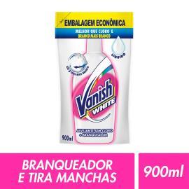 Alvejante Vanish liquido sem cloro white refil sache 900ml