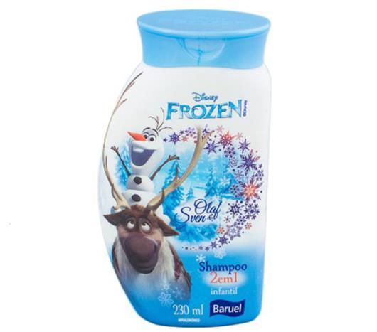 Shampoo Baruel frozen olaf&sven 230ml - Imagem em destaque