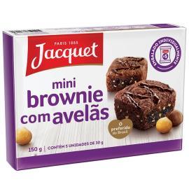 Bolo jacquet mini brownie com avelãs 150g