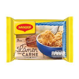 Macarrão instantâneo Maggi lámen sabor carne 85g