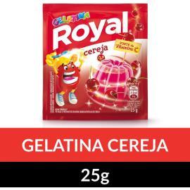 Gelatina em pó ROYAL Cereja 25g