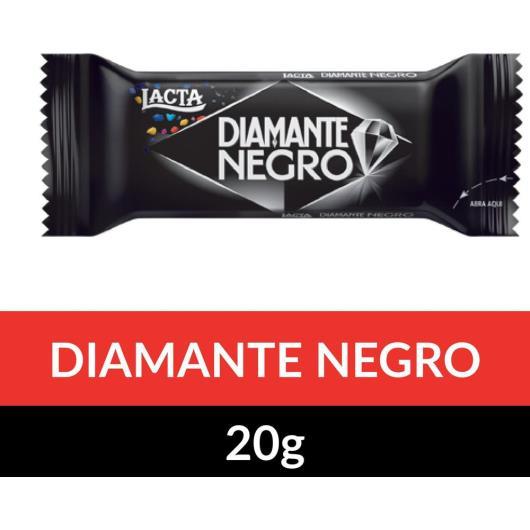 Chocolate DIAMANTE NEGRO Lacta 20g - Imagem em destaque