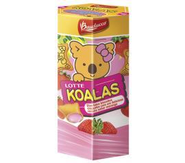Biscoito Bauducco Lotte Koalas morango 37g