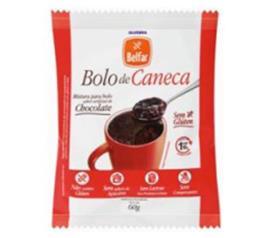 Mistura Bolo Belfar Caneca Chocolate 60g