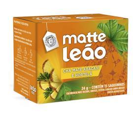 Chá Leão Matte Abacaxi / Hortelã 24g