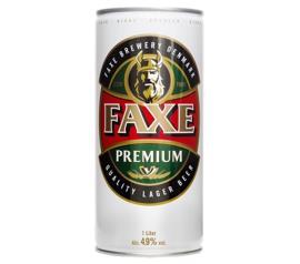 Cerveja Faxe Premium lata 1L