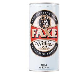 Cerveja Faxe Witbier lata 1L