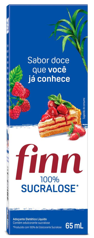 Adoçante Finn 100% Sucralose Liquido 65ml - Imagem em destaque