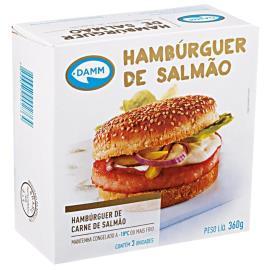 Hambúrguer de Salmão Damm 360g