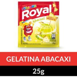 Gelatina em pó ROYAL Abacaxi 25g