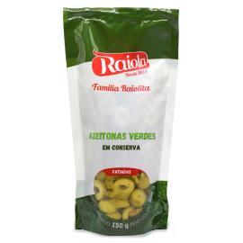 Azeitona Raiolita verde fatiada sachê 150g