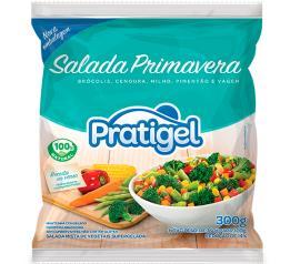 Salada Primavera Congelada Pratigel 300g
