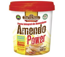 Pasta Amendoim Dacolônia Integral Amendos Power 500gr