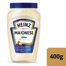 Maionese Heinz Tradicional Pote 400g