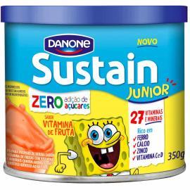 Pó para Preparo Bebidas Sustain Junior Vitamina de Frutas 350g
