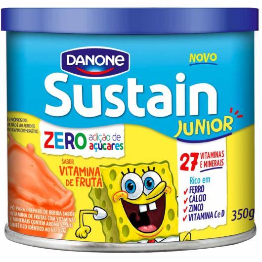 Pó para Preparo Bebidas Sustain Junior Vitamina de Frutas 350g - Imagem em destaque