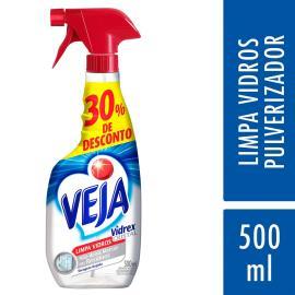 Limpa Vidros Veja Vidrex 30% de Desconto Gatilho 500ml