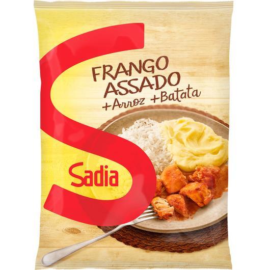 Frango Assado Sadia + Batata + Arroz 350g - Imagem em destaque
