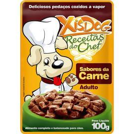Alimentos para Cães Xisdog Adulto Carne 100g