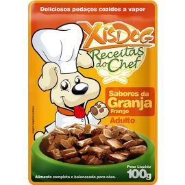 Alimentos para Cães Xisdog Adulto Granja Frango 100g