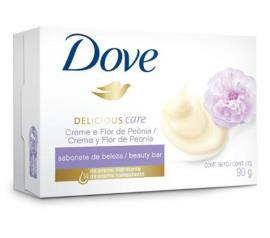 Sabonete Dove Delicious Care Peônia 90g